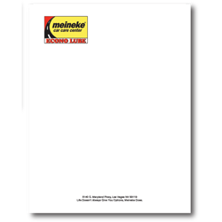 Cut Sheets and Letterhead
